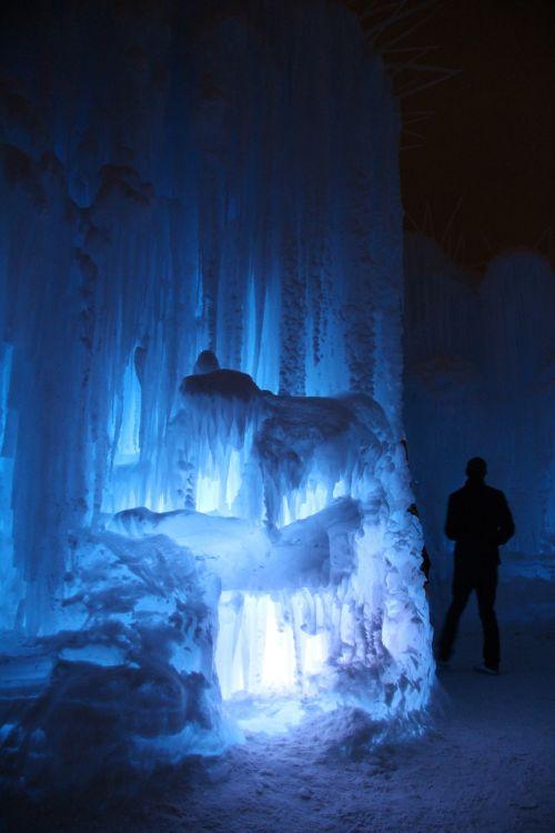 Edmonton Ice Castle Icicles