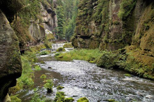 edmund gorge czech switzerland valley