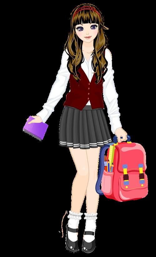 education schoolgirl uniform