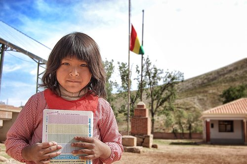 education  bolivia  girl