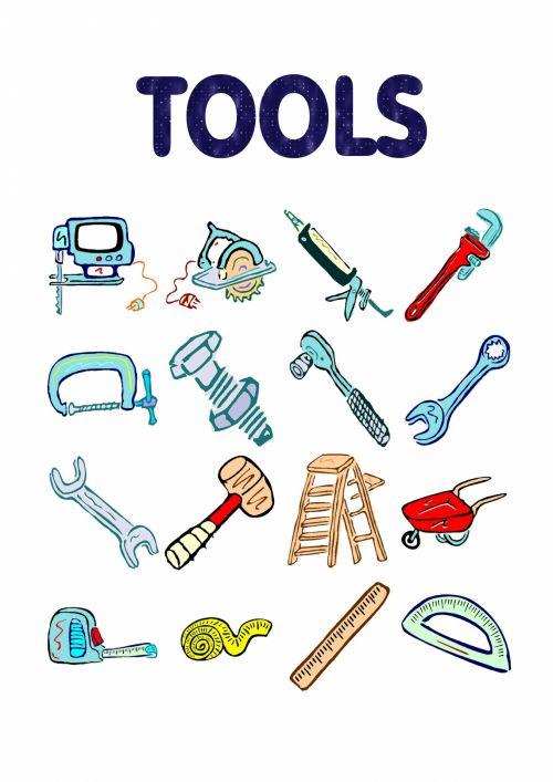 Educational Tools Repairs Poster