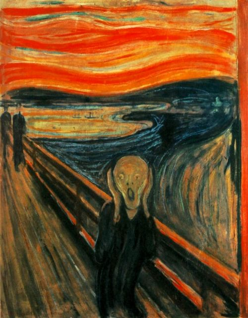 edvard munch scream painting