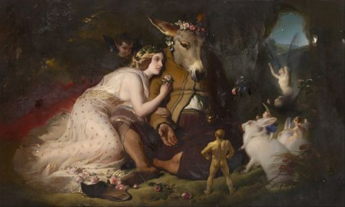 edwin landseer william shakespeare dream scene of a summer night