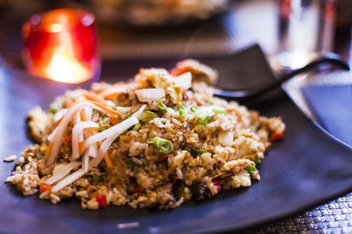 eel rice fried rice wobble