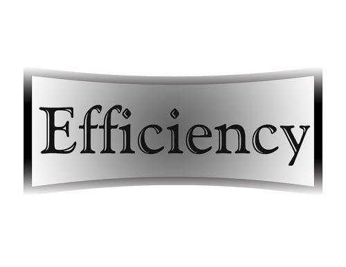 efficiency black white