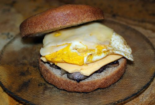 egg sausage cheese