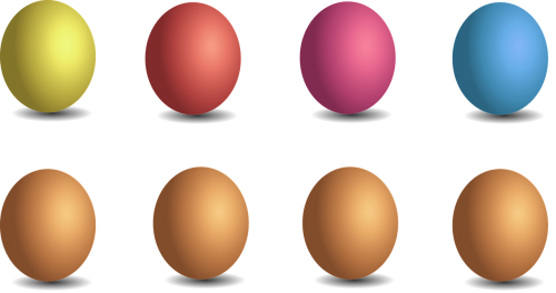 egg colorful easter eggs