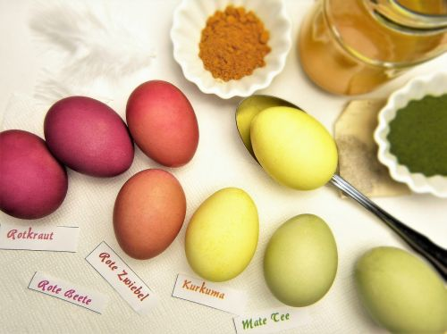 egg easter eggs color