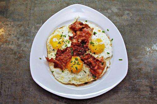 egg  fried  bacon