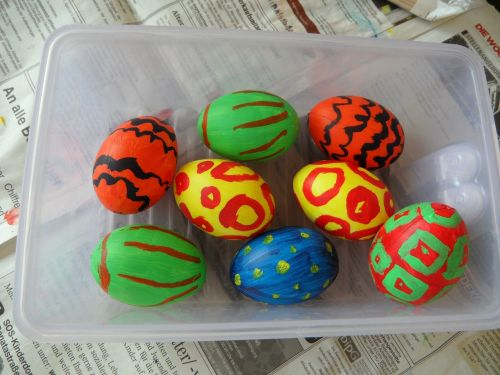 egg easter eggs painted