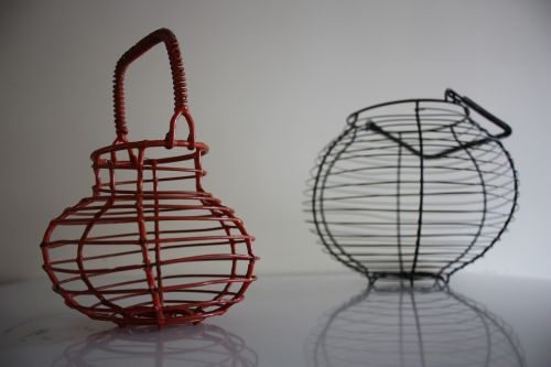 egg basket basket thread