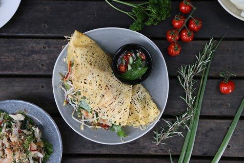egg net  thai food  ingredient