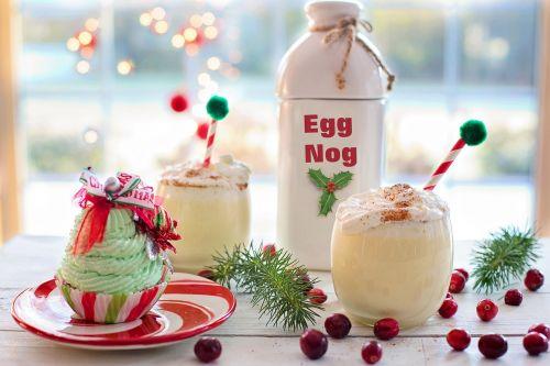 egg nog christmas drink
