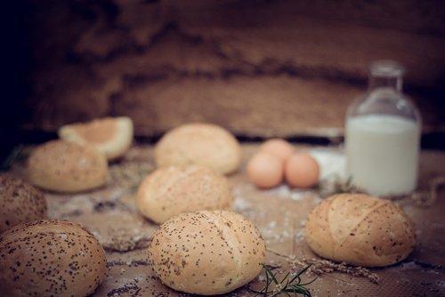 eggs  buns  rolls