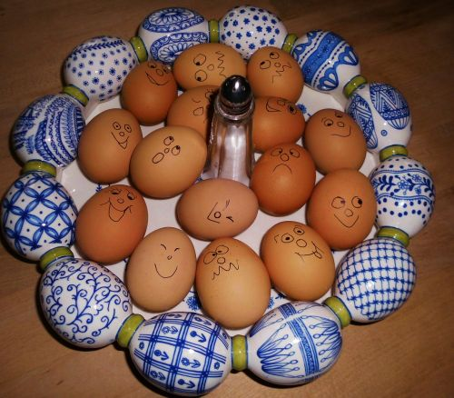 eggs easter scale