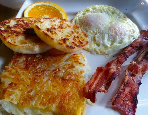 Eggs Bacon Potatoes Breakfast