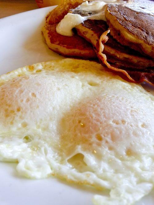 Eggs Over Easy Breakfast