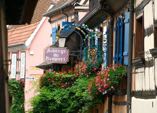 eguisheim  alsace  historic center