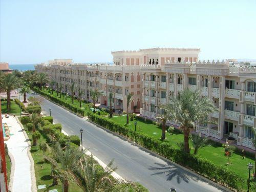 Egiptas,viešbutis,gatvė,hurgada,karštas,saulė