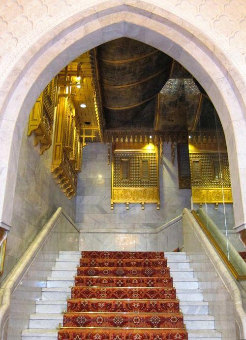 egypt mena house stairway