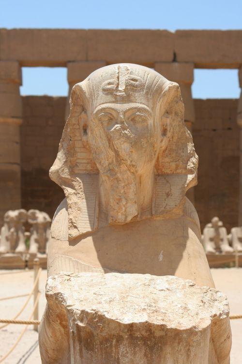 egypt luxor karnak temple