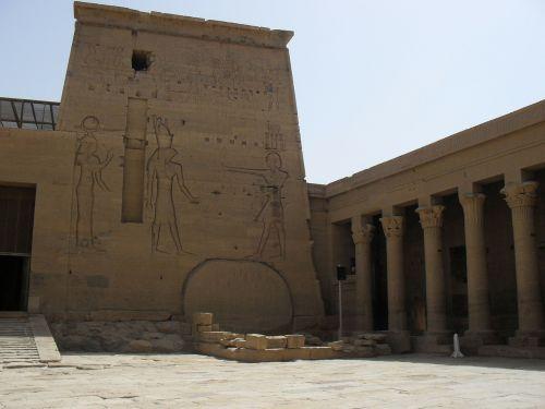 Egiptas,šventykla,Nile