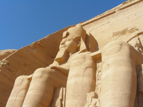 egypt abu simbel pharaohs