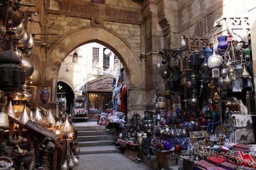 egypt cairo bazaar