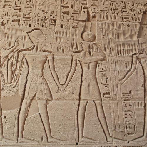 egypt temple hieroglyphics