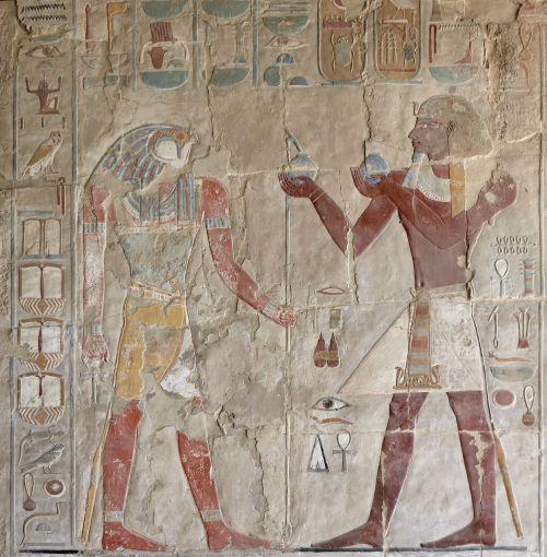 egypt luxor mortuary temple of hatshepsut art