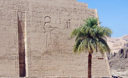 egypt  medinet-habu  temple