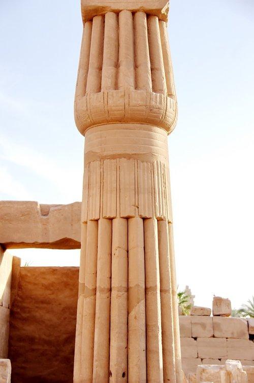 egypt  karnak  column