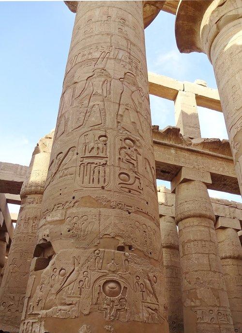 egypt  karnak  columns