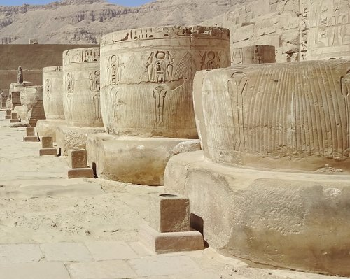 egypt  thebes  temple