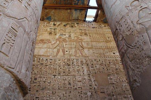 egypt  thebes  medinet-habu