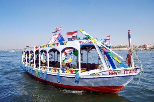 egypt  nile  boat