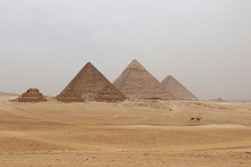 egypt  pyramids  sand