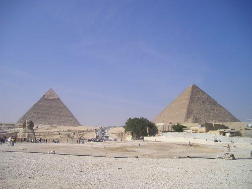 egypt pyramids chephren