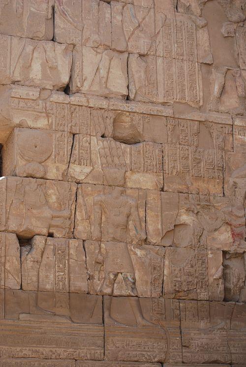 Egiptas,hieroglifai,šventykla