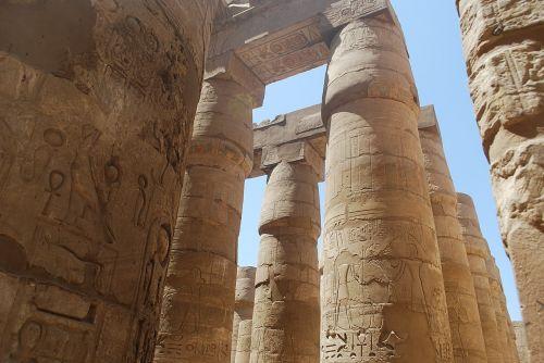 egypt columns temple