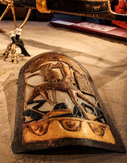 egypt pharaonic shield
