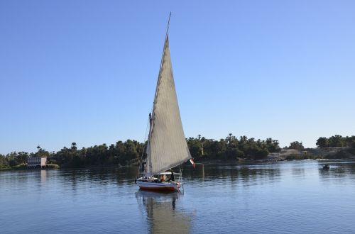 Egiptas,felucca,Nile