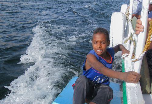 Egiptas,Nile,upė,berniukas