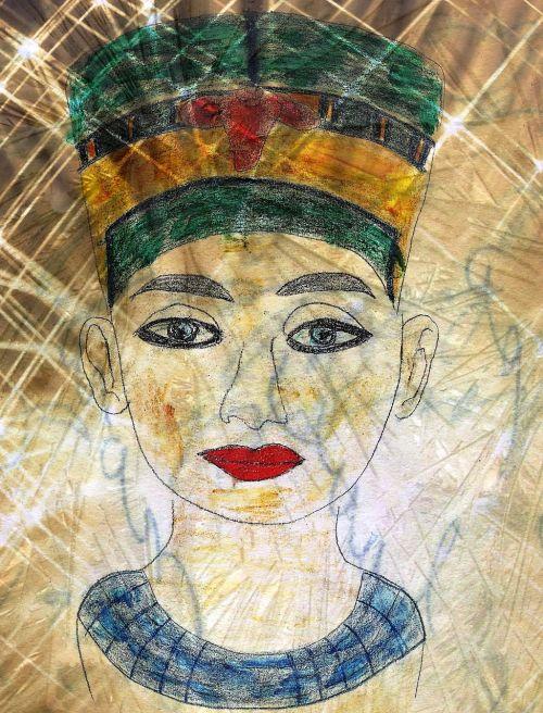 egypt pharaonic bust
