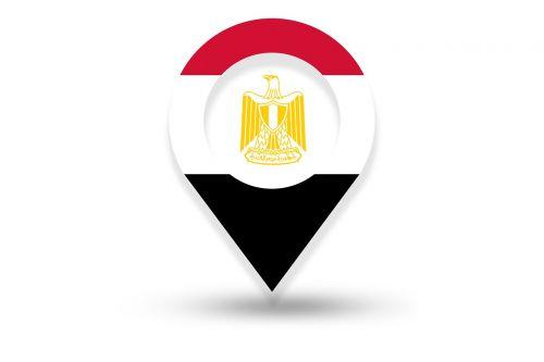 egypt flag egyptian flag egypt location