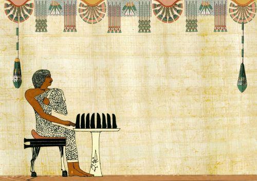 egyptian design man