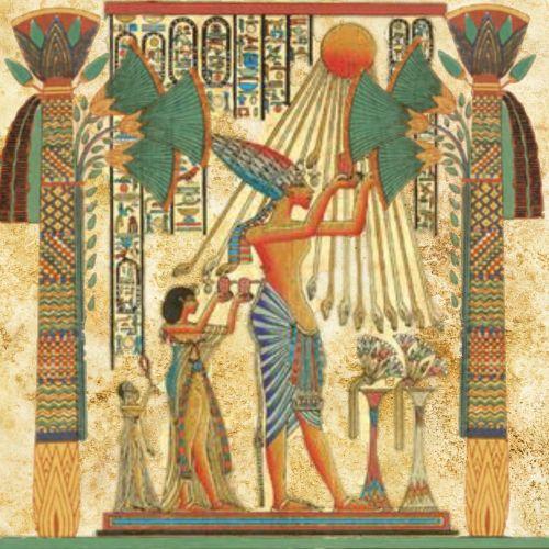 egyptian man sun god