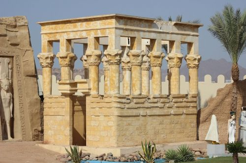egyptian temple historic site structure