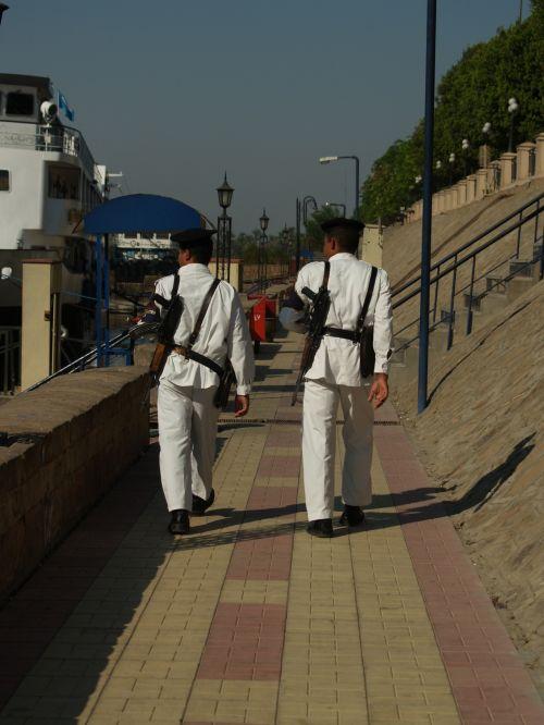 Egiptas, turistinis, policija, luxor, Nile, upė, Egipto turizmo policija