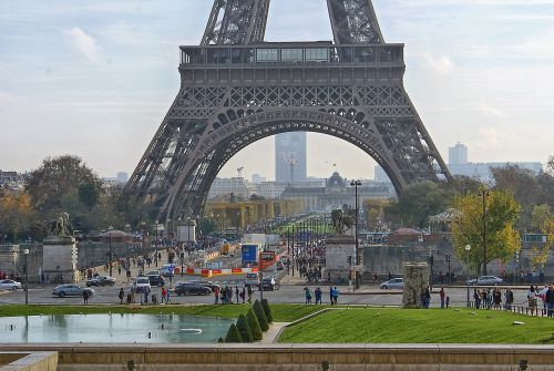 eiffel tower tower the design of the
